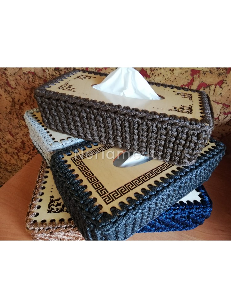 Ažūrinis servetėlių dėžutei  24X12,5CM