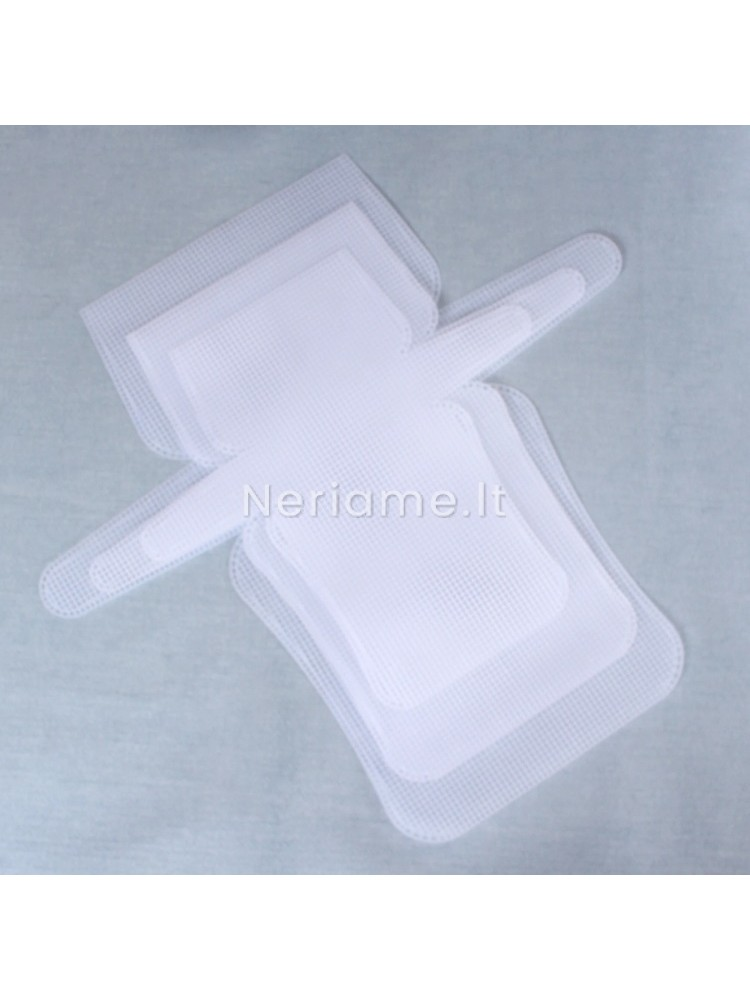Plastikinis tinklelis rankinei-kanva